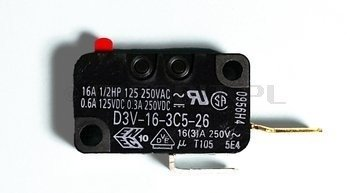Mikroprzełącznik zamka drzwi, HYDRIM C61