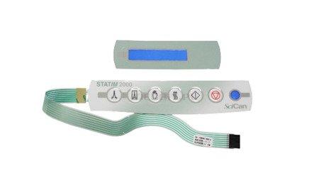 Klawiatura z naklejką na LCD,  STATIM 2000